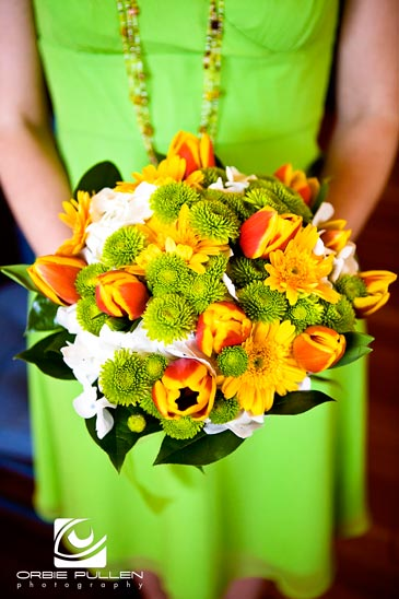 Fine Art Destination Wedding Photographer Orbie Pullen Captured this photo of the Wedding Flowers in Trinidad, Ca.