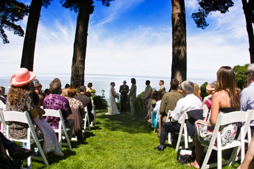 Fine Art Destination Wedding Photographer Orbie Pullen shot this moment of a bride and groom at the Lost Whale Inn.