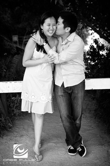 Capitola Fine Art Wedding Photographer Orbie Pullen captured this engaged couple in Capitola, Ca.