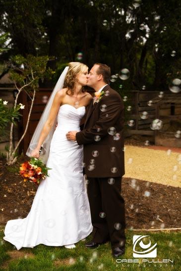Santa Cruz Fine Art Wedding Photographer Orbie Pullen shot this photograph of a wedding couple in Santa Cruz, Ca.