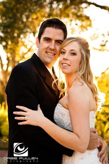 Santa Cruz Fine Art Wedding Photographer Orbie Pullen captured this Wedding photo at the Hollins House in Santa Cruz, Ca.