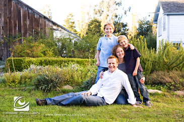 Santa Cruz Family Portrait Photographer Orbie Pullen captured this great photograph of a nice family at Wilder Ranch in Santa Cruz, Ca.