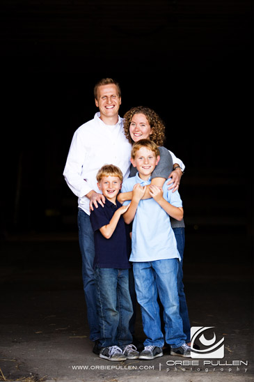Santa Cruz Family Portrait Photographer Orbie Pullen captured this great photograph of a great family at Wilder Ranch in Santa Cruz, Ca.