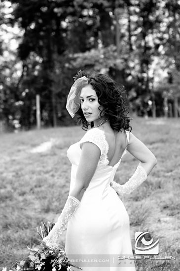 Destination Travel Garden Wedding photographer Orbie Pullen captured this unique, hip, Offbeat bride in northern California.