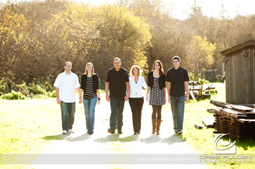 Santa Cruz Family Portrait Photographer Orbie Pullen captured these images at Wilder Ranch in Santa Cruz, Ca.