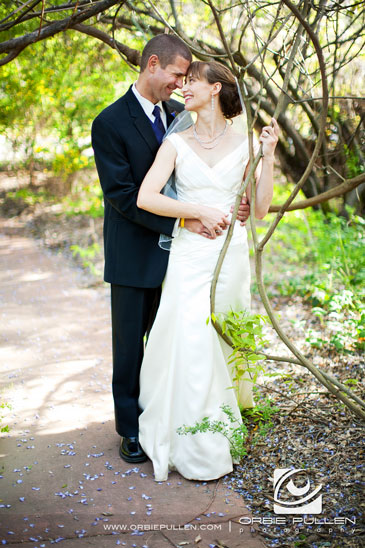 Hans Faden Winery Wedding Photographer Orbie Pullen Shot this photograph of a bride and groom in Calistoga, Ca.